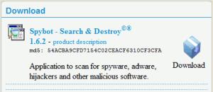 Spybot Download