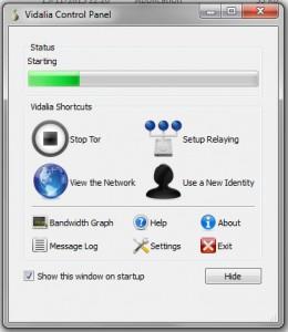 Tor Control Panel