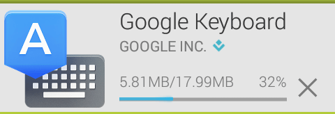Installing Google Keyboard